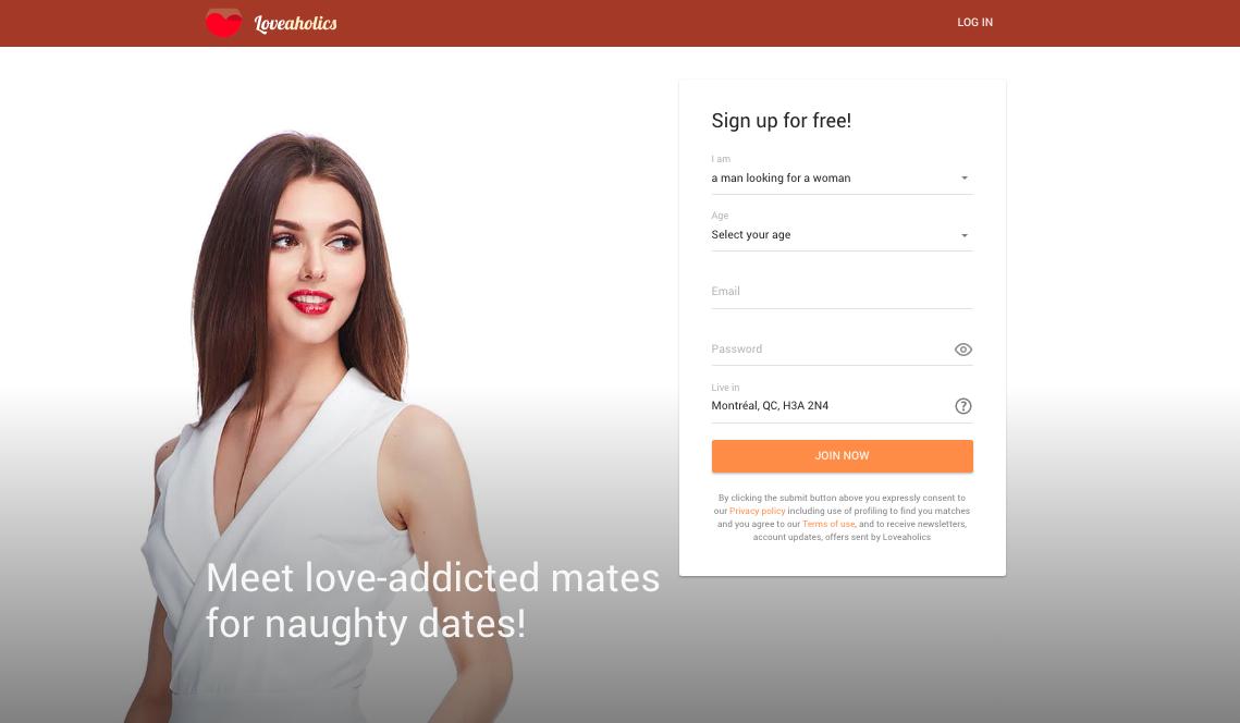 site de rencontre loveaholics