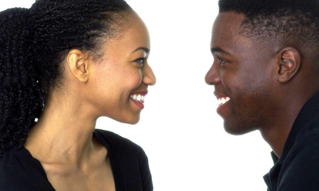 Svart dating anslutning