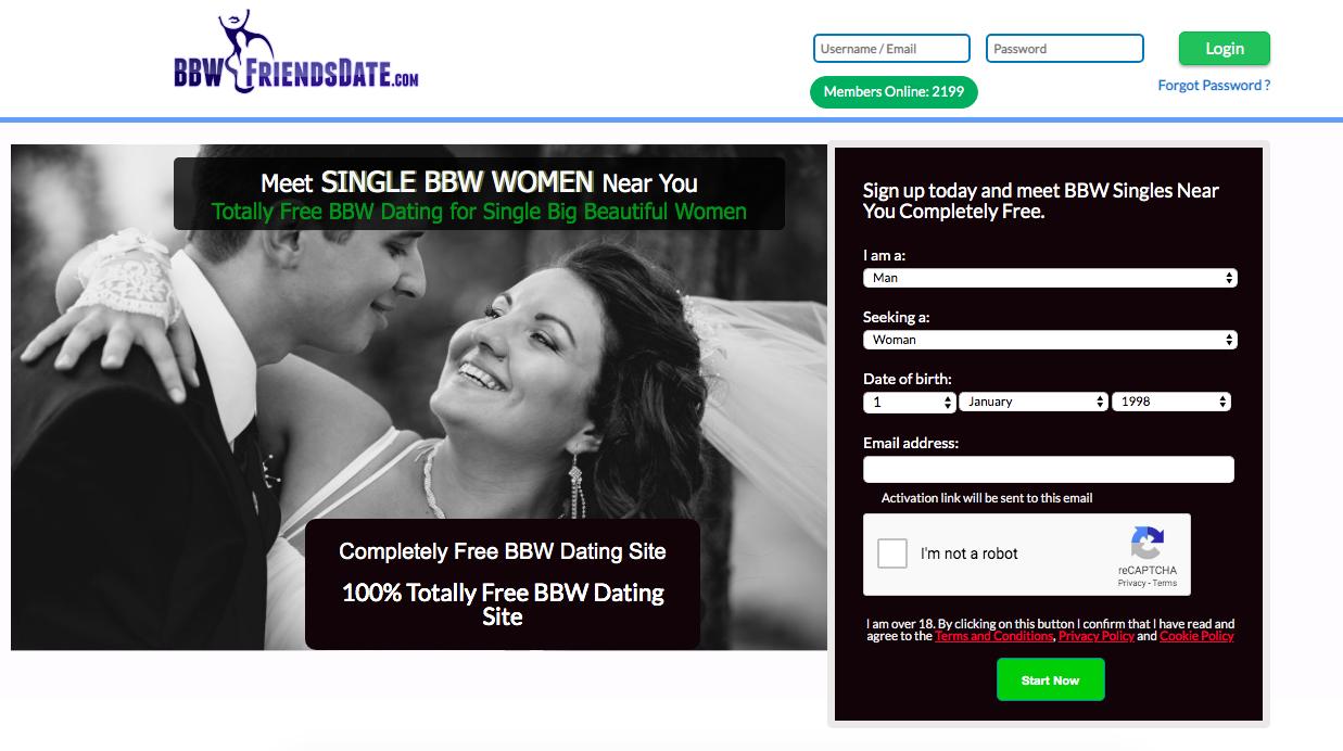 main page BBWFriendsDate