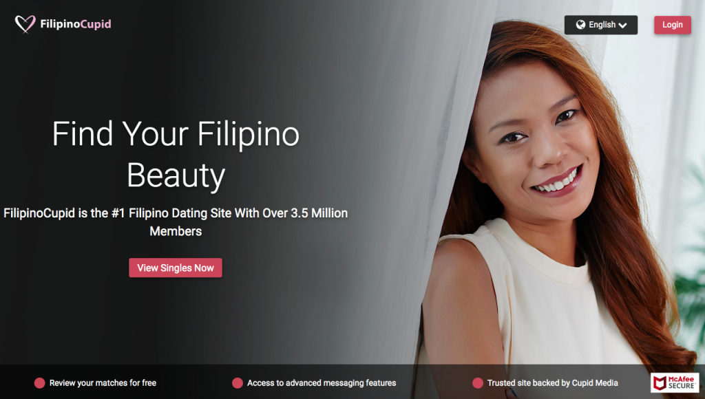 huvudsida FilipinoCupid.com