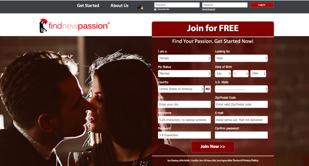 main page Find New Passions