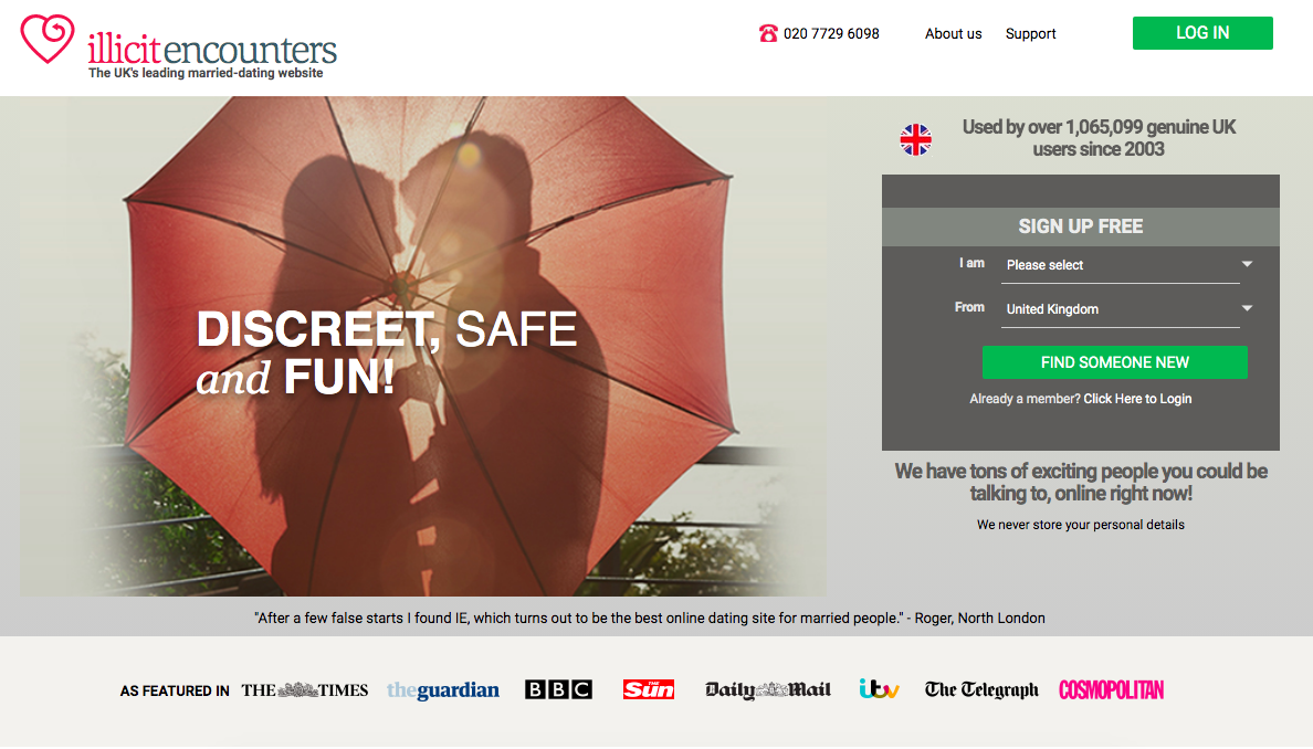 main page Illicit Encounters