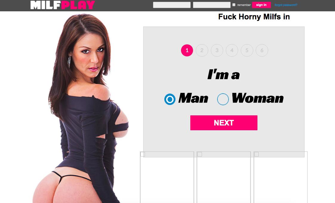 huvudsida Milfplay.com
