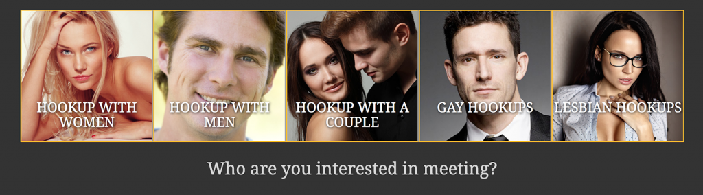 Instant hookup search