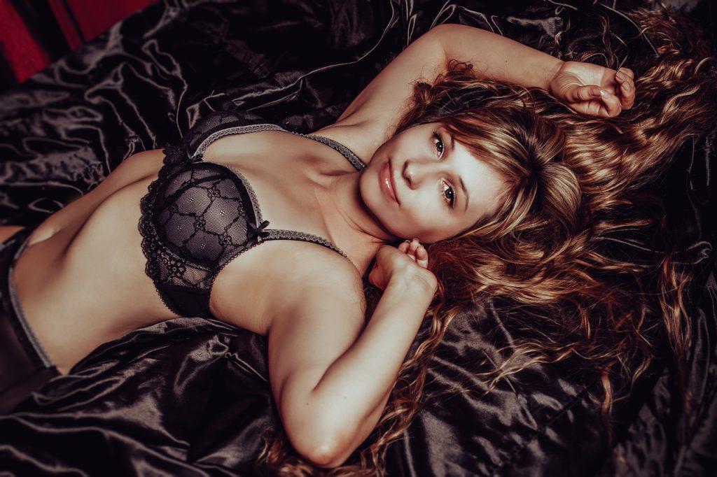 hot girl in lingerie