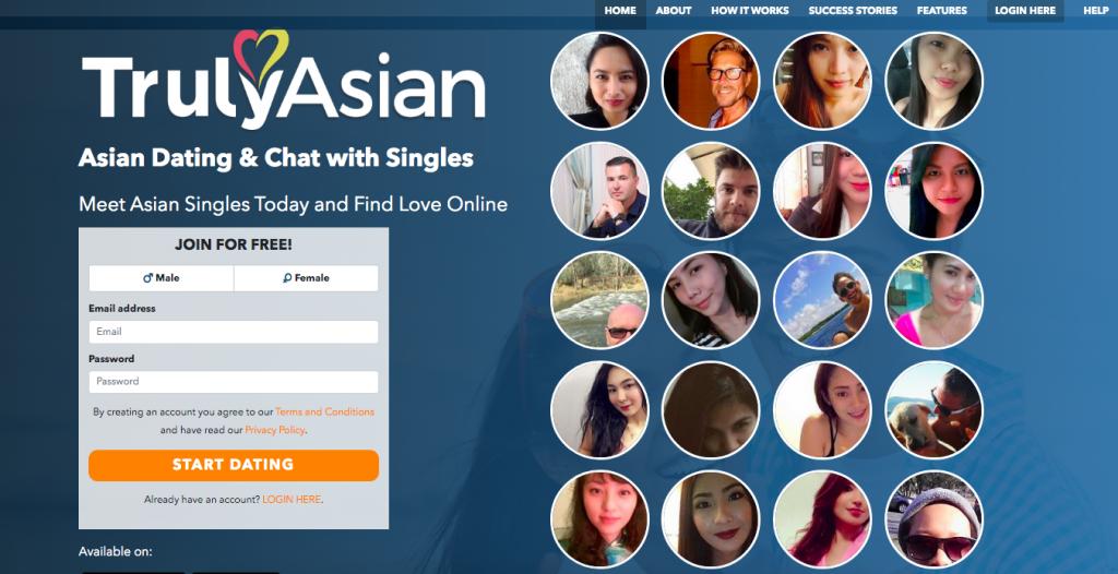 TrulyAsian main page