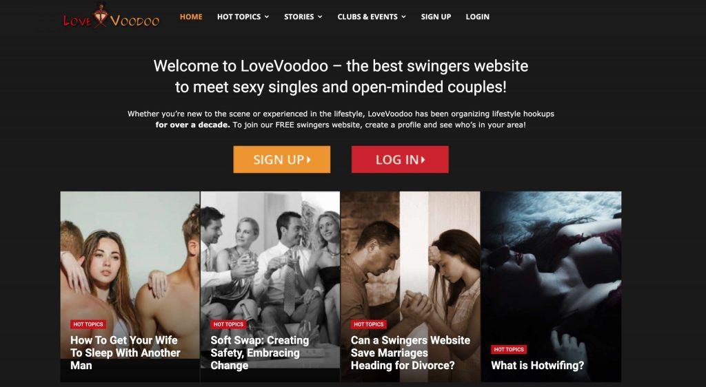 Lovevoodoo main page